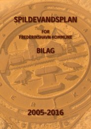 Bilag - Spildevandsplan for Frederikshavn Kommune år 2005-2016 ...