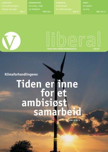 Nr. 8, 12. desember - Venstre
