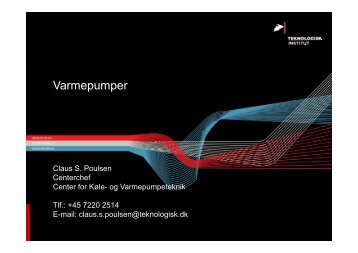 Varmepumper - Energiforum Danmark