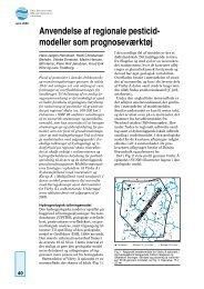 modeller som prognoseværktøj - Geus