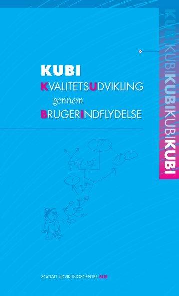 pjece om KUBI - Socialt Udviklingscenter SUS