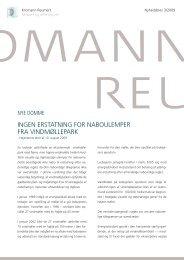 INgeN eRstatNINg foR NabouleMpeR - Kromann Reumert