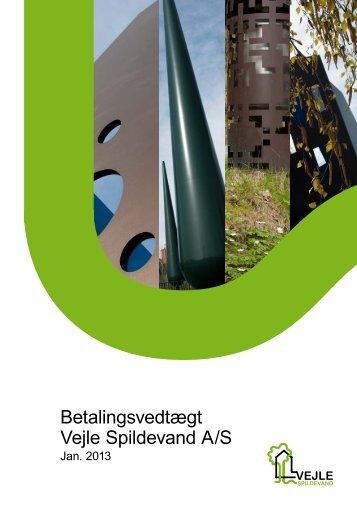 Betalingsvedtægt Vejle Spildevand A/S