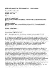 Gennemgang af spildevandsplan - 6 rigtige