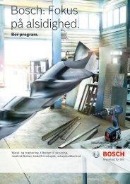 Bosch: Fokus på alsidighed.