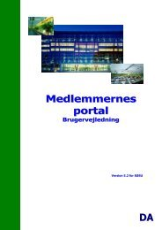 Medlemmernes portal DA - Europa