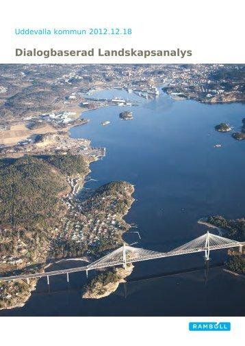 Landskapsanalysen - Uddevalla kommun