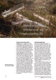 NATURvejleder 2007 nummer 3 - Tillæg