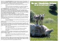 Printvenlig folder om husdyrene i Sagnlandet Lejre (PDF