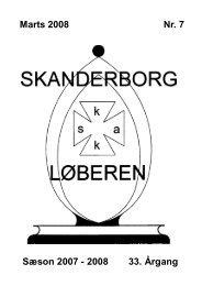 Marts 2008 Nr. 7 Sæson 2007 - Skanderborg Skakklub