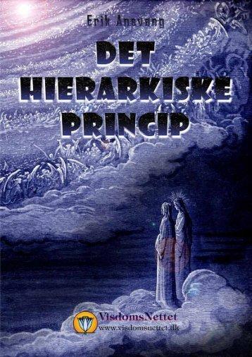 DET HIERARKISKE PRINCIP - Erik Ansvang - Visdomsnettet