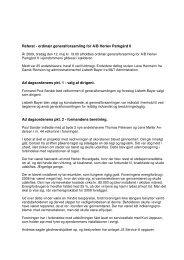 Referat fra ordinær generalforsamling 12. maj 2009 - Herlev ...
