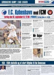 Kampprogram FCK-FCM (Kræver Adobe Acrobat ... - FC København