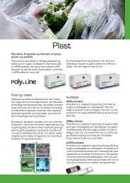 Overskrift Plast