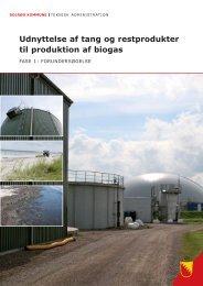 Her finder du rapporten om biogasprojektet - Solrød Kommune