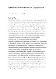 Essays - Rytmisk Musikkonservatorium