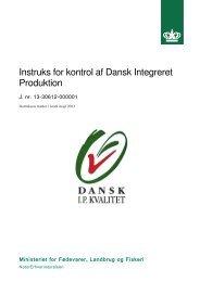 Instruks for kontrol af Dansk Integreret Produktion