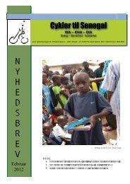 Nyhedsbrev februar 2012 - Cykler til Senegal