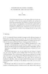 Erik Gøbel: Sygdom og død under hundrede års Kinafart, s. 75-130