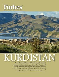 Kurdistan: pdf file April, 2009 - Insight Publications