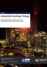Industrielt eierskap i Norge 2012 - Siva