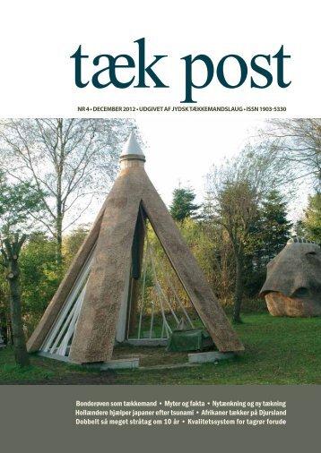 Tæk Post 4-2012 - Jydsk Tækkemandslaug . Stråtag