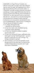 Brochure Carnivor voksen hundefoder - Hornsyld Købmandsgaard A/S - Page 3
