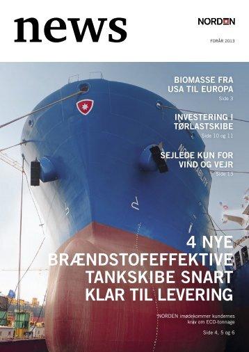 4 nye brændstofeffektive tankskibe snart klar til levering