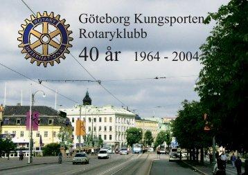 Göteborg Kungsporten blir Rotaryklubb