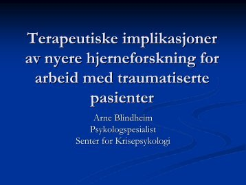 Arne Blindheim