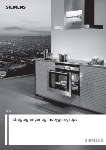 s Stregtegninger og indbygningstips - Siemens