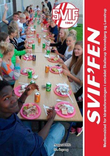 SVIFFEN august 2012 - Skallerup-Vennebjerg Idrætsforening