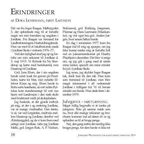 Årsskrift 2011 - Alt fra Jordløse