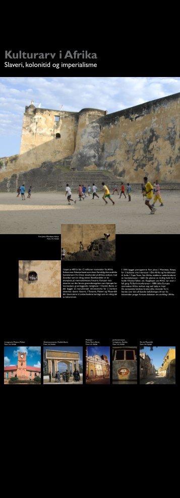 Kulturarv i Afrika - Riksantikvaren