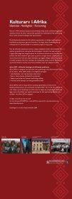 Kulturarv i Afrika - Riksantikvaren - Page 6