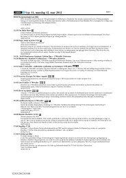 Uge 11, mandag 12. mar 2012 - DR