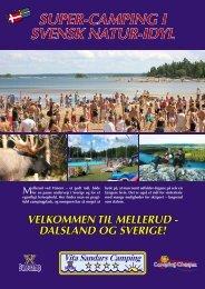 super-campinG i sVensk natur-idyl - Vita Sandars Camping