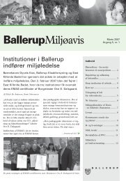 Marts 2007 - Ballerup Kommune