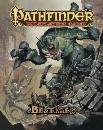 Pathfinder - Bestiary 1.pdf - Dorks and Dragons!