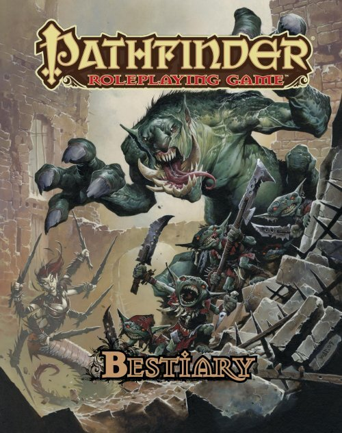 Pathfinder - Bestiary 1 pdf - Dorks and Dragons!
