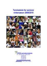 seniortennisskole inde 2009/10