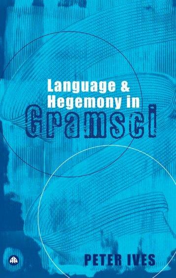 Language and Hegemony in Gramsci - Algum Lugar