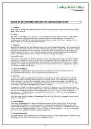 Salgs og leveringsbetingelser - klik her - Lindegaarden