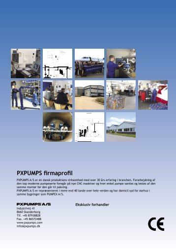 PXPUMPS firmaprofil - PUMP TEC