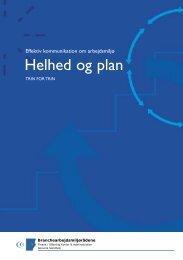 Hent helhed og plan - Branchearbejdsmiljørådet Social & Sundhed