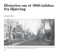 Historien om et 1900-talshus fra Hjørring - Den Gamle By