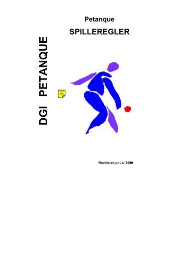 DGI Petanqueregler - Ferslev By