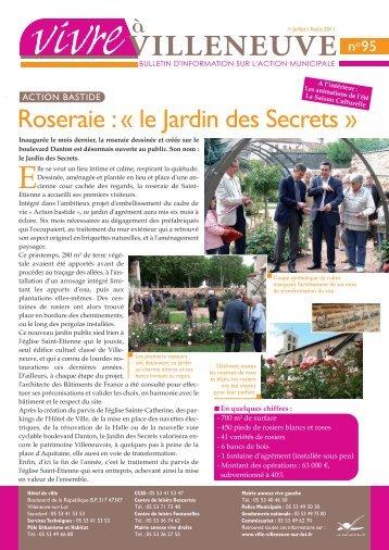 Juillet 2011 Téléchargez le bulletin d'information - Villeneuve sur Lot