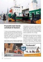 "Fryseskib med dansk svinekød til rusland ""Forførende"" - Århus Havn"