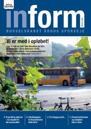 Inform 251 - Marts 2008 - Busselskabet Århus Sporveje